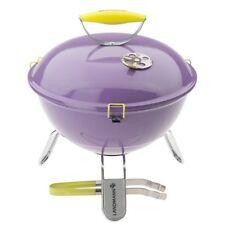 Landmann Piccolino Barbecue portable 34 cm Grille et les jambes Violet Chromé