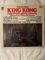 "THEME FROM KING KONG AND OTHER MOVIE GREATS- 12"" Vinyl Record LP - EX"