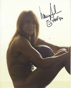 NANCY LIEBERMAN CLINE Signed 8 x 10 ESPN Body Issue WNBA Photo HOF Free Shipping