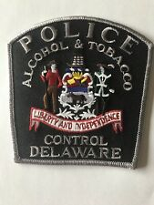 Delaware DE State Police Patch Alcohol And Tobacco Control Abc