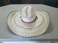 New Mexican Sombrero  Charro Rustic Authentic Hat
