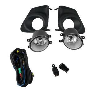 For Toyota Corolla 2011-2013 Pair Front Bumper Fog Light Lamp w/ Bulb Switch Kit