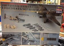Kit maqueta Luftwaffe Pilot figures & Equipments set W.w.ii 1 48 Hasegawa 36009