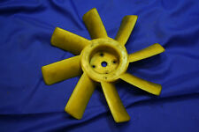 Triumph TR250 TR6 Original Yellow 8 Blade Cooling Fan Assembly