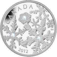 CANADA 2012 $20 Silver Snowflake series - Holiday Snowstorm