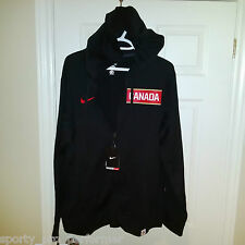 Nike Team Canada Sochi Olympics Therma-Fit zip up hooded sweater BNWT Large