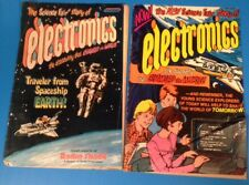 THE ALL NEW SCIENCE FAIR STORY OF ELECTRONICS 78 85 Radio Shack comic lot of 2