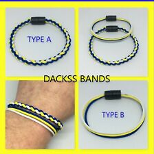 Leeds United Elland Road Hand Made 2mm Paracord WristBand Bracelet Ladies Gents