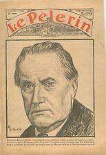Portrait Jean-Louis Forain peintre goguettier Académie des beaux-arts Paris 1931