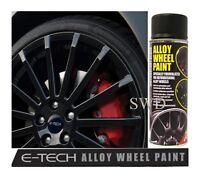 ETech Motorsport Black Chip Resistant Alloy Wheel Refurb Kit & Spray Paint 08028