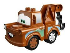 LEGO - Duplo Vehicle - Tow Truck with Cars Mater Pattern - Dark Orange