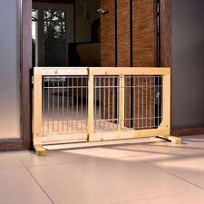 Trixie Dog Barrier Birch 63-108x50x31 centimetri - Cane Barriera di betulla