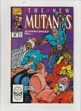 New Mutants Marvel Comics #89 VF/NM 9.0 Rob Liefeld Early Cable app 1990