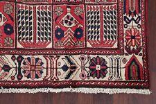 5'x9' Vintage Bakhtiari Garden Design Area Rug Wool Hand-Knotted Oriental Carpet