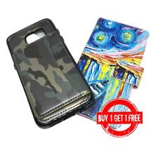 2 casos de cuero para Samsung Galaxy S7 compra uno obtener ONE Edge (Gratis)