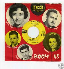 SP 45 RPM TOHAMA TOM PILIBI  (EUROVISION 1960)