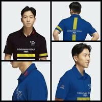 Men's Golf Polo PGA sponsor logo Revolt golf, Rhino Dosage and CMG
