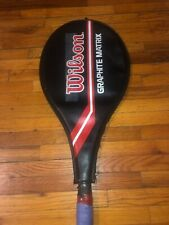 Classic Wilson Graphite Matrix Tennis Racquet