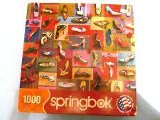 """""""Shoes! Shoes! Shoes!"""" 1000 Piece Springbok Puzzle"""