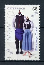 Austria 2017 MNH Traditional Costume of Poettsching 1v Set Costumes Dress Stamps