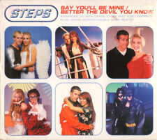 Steps - Say You'll Be Mine / Better The Devil You Know - CD Single Enh Dig