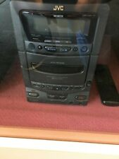 JVC UXT1 Mini Stereo  w/cassette / cd @remote