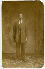 African American Man Photo Postcard