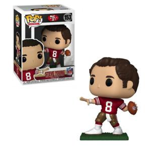 STEVE YOUNG SAN FRANCISCO 49ERS FUNKO POP! VINYL LEGENDS FIGURE #153 NEW IN BOX