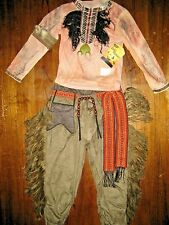 $49.00 Boys` Disney Halloween Tonto Indian  Costume The Lone Ranger Size 2-3