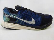 b04039196f01 Nike Lunarglide 7 Size 13 M (D) EU 47.5 Mens Running Shoes Blue Black