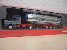 "Herpa - Scania Hauber Chromtank-Sattelzug ""Spedition Anhalt"" - 1:87"