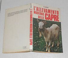 Emanuele Azzità L'ALLEVAMENTO MODERNO DELLE CAPRE De Vecchi 1980