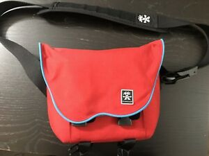 Great condition Crumpler Camera Bag Red with Gray interior