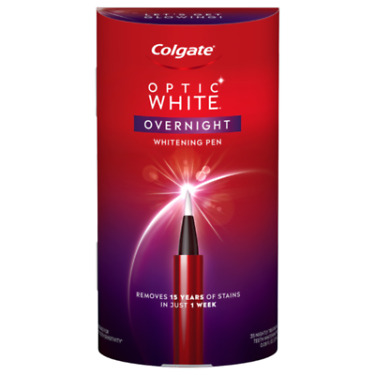 Colgate Optic White Overnight Teeth Whitening Pen 35 Treatments EXP 122021