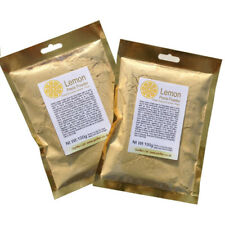 Lemon Peel Fine Powder 100g Citrus Drinks Tea Spices Seasonings Skin Brightener