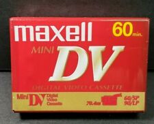 Maxell Mini DV Digital Video Cassette Tapes 60 Minute New