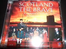 Scotland The Brave – Recorded Live In Concert 2 CD – New (Not Sealed)