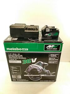 "Metabo HPT 7-1/4"" 36V Cordless Circular Saw With Charger & Battery"