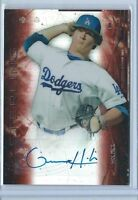 GRANT HOLMES 2014 BOWMAN STERLING ORANGE REFRACTOR AUTOGRAPH #/75 AUTO ROOKIE RC