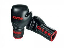Kwon Boxhandschuhe Tournament, schwarz od. rot 10Oz. Kickboxen, Boxen,Muay Thai