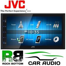 "JVC KW-M24BT 6.8"" Lcd Touchscren MECHLESS BLUETOOTH USB iPhone Reproductor estéreo de coche"