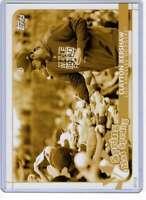 Clayton Kershaw 2020 Topps Opening Day Spring has Sprung 5x7 Gold #SHS-18 /10 Do