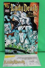 Lady Death The Crucible #1/2 Wizard Variant Chaos Comic Comics F/F+