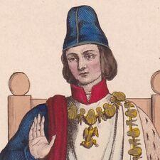 Louis XI Valois Capétiens Ordre de Chevalerie Saint Michel