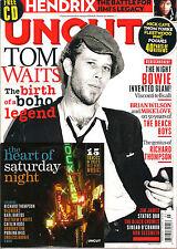 UNCUT UK Take 190 March 2013 TOM WAITS Jimi Hendrix Richard Thompson Can + CD