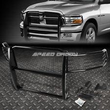 FOR 09-17 DODGE RAM 1500 PICKUP BLACK COATED MILD STEEL FRONT GRILL FRAME GUARD