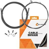 Ciclovation Advanced Brake Cable Set Black Road Bike