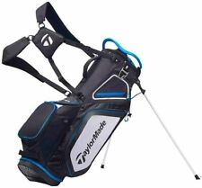 TaylorMade Pro Stand 8.0 Golf Bag (2020 Version) Black/White/Blue