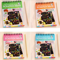 Random Color Sketchbook Diary for Drawing Painting Paper Graffiti DIY Coils Book