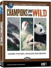 CHAMPIONS OF THE WILD - UNDER THE SEA, WHALES AND BEARS (BOXSET) (DVD)